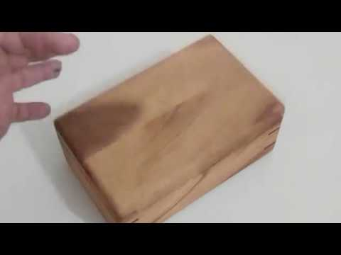 Simples caixa de madeira - Vou colocar meus charutos