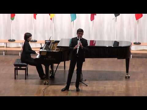 Л. Шпор. Концерт №1 для кларнета с оркестром,1 часть.