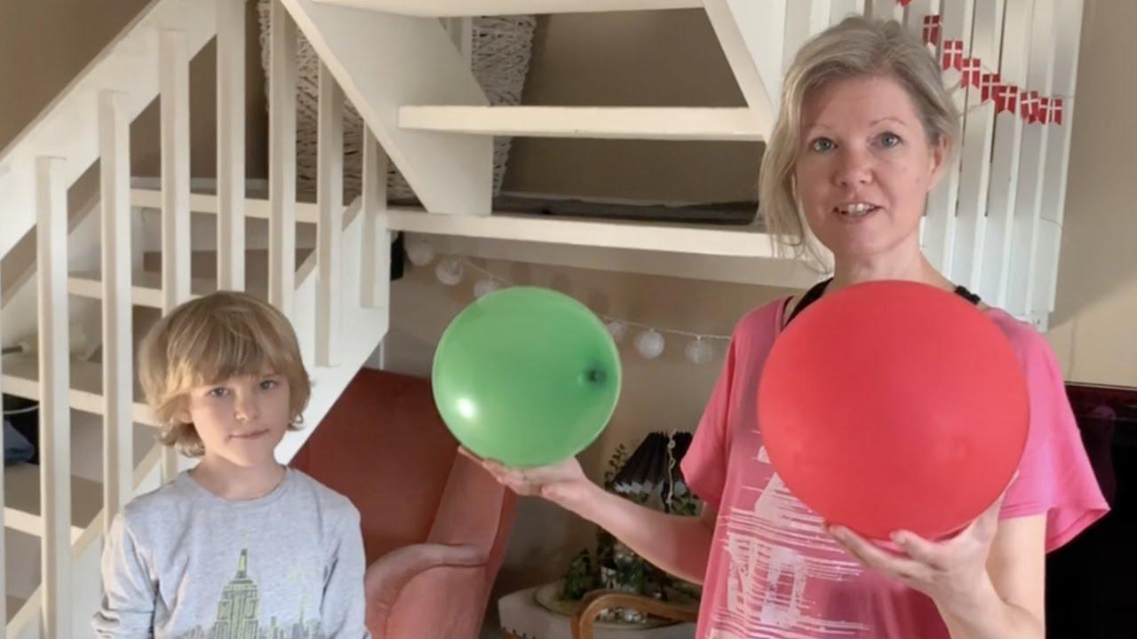 Brain Breaks med ballon - Hjemmeskoling/hjemmeundervisning