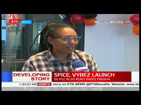Spice, Vybez Launch: State of art studios set to revolutionize the radio industry in Kenya