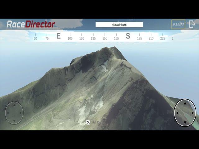 Flight over the Austrian Alps