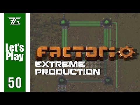 Factorio Extreme Production - Ep 50 Lithium