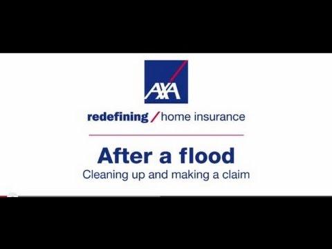Flood advice - after a flood