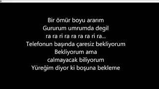 hakan altun - bir telefon lyrics / bir telefon كلمات اغنية
