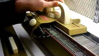 What do you need to know choosing your first knitting machine part I