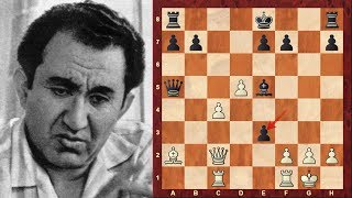Tigran Petrosian Amazing Immortal Chess Game vs Bobby Fischer
