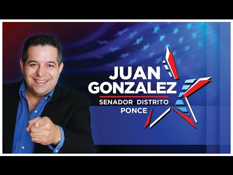 Juan Gonzalez Senador Distrito De Ponce