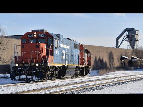 Railfanning Southeast Wisconsin January 2021
