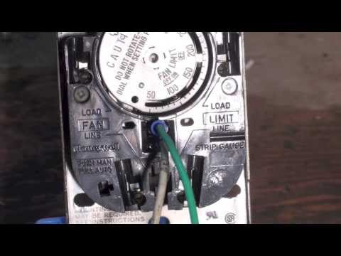 how the honeywell fan and limit switch works 3 25