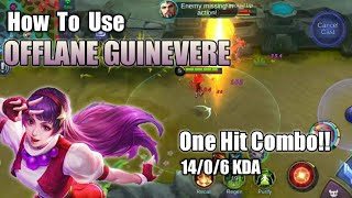 OFFLANE GUINEVERE - Tips and Tricks | Mobile Legends Bang Bang