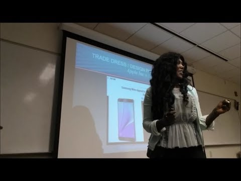 Prof Blackmore's Business Law Class - Intellectual Property - Apple Inc. v. Samsung