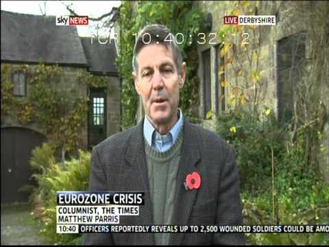 Petros Fassoulas (European Movement) on Skynews (12.11.11)