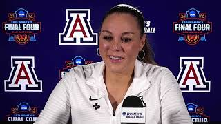 Arizona National Championship Postgame Press Conference - 2021 Women's NCAA Tournament