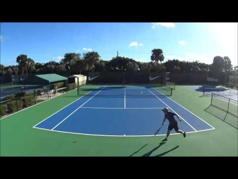 Daniel Marta College Video Technical and Match Play