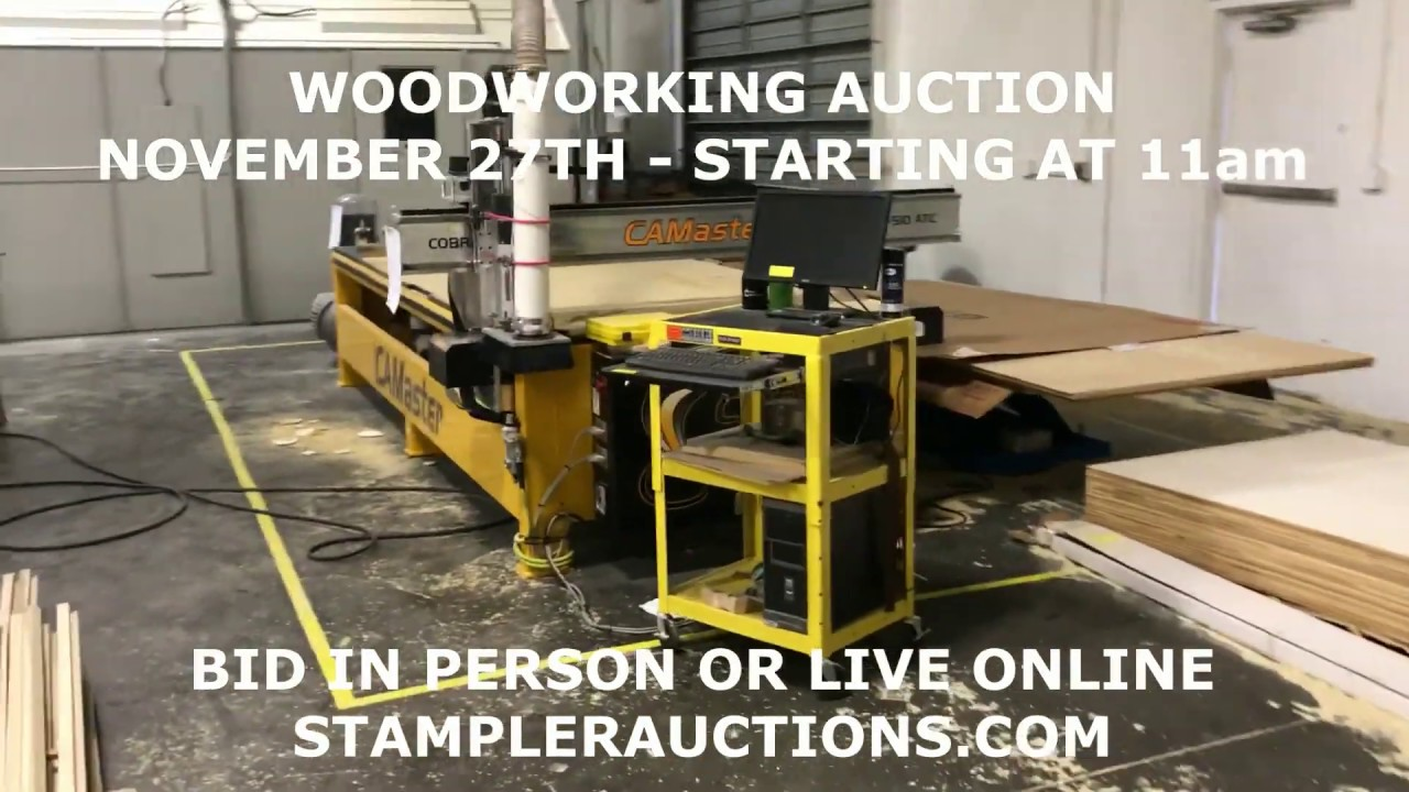 woodworking equipment auction - nov 27th