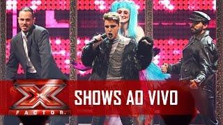 Diego impressiona nos Shows ao Vivo | X Factor BR