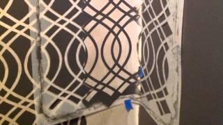 "DIY ""Glam"" Closet Makeover Using Stencils Thumbnail"