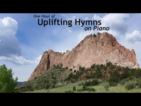 One Hour of Uplifting Hymns on Piano