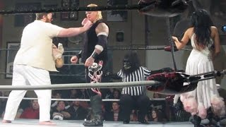 Freakshow Wrestling - Gangrel /w Shelly Martinez Vs One Leroy Wolf Pack /w Baby Carlos