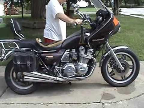 1980 honda cb900 custom test start 0913 youtube for 1980s honda motorcycles