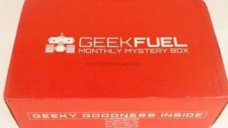 Geek Fuel April 2016 Unboxing + Coupon @TheGeekFuel