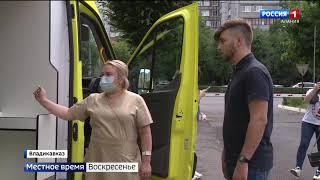 Врачи станции скорой помощи оценили новые автомобили