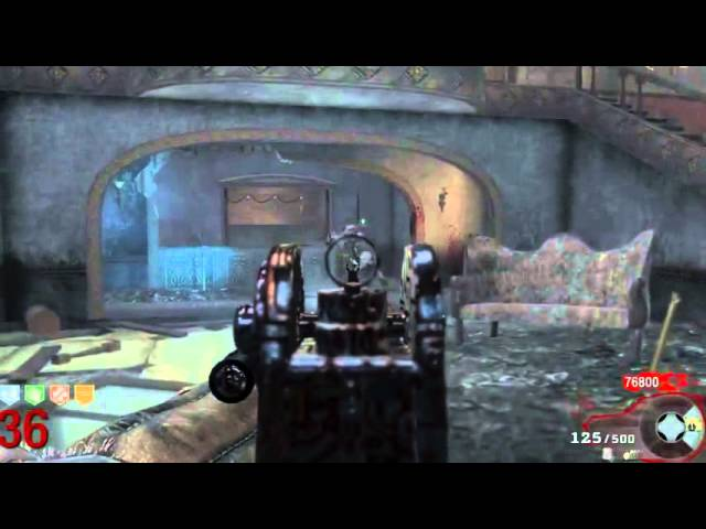 ALL GUNS PACKED IN ZOMBIES WITH WILLY REX COD BO2.flv Videos De Viajes
