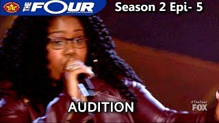 "Kateri Bluford Gospel siฑger sings ""I'm Getting Ready"" The Four Season 2 Ep. 5 S2E5"