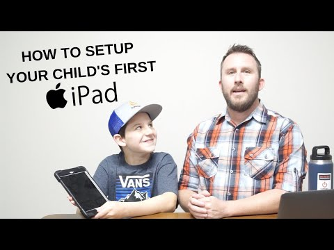 How To Setup Your Child's First iPad or iPhone To Keep Them Safe