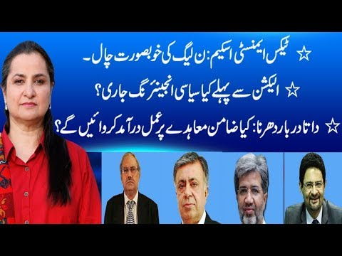 Nasim Zehra - 7 April 2018 - 24 News HD