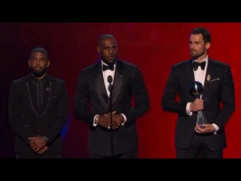 Cleveland Cavaliers Wins ESPYs Best Moment