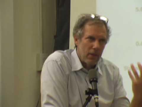 Robert Pollin: Forum on the Financial Crisis pt1