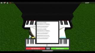 How To Play Demons ROBLOX Piano - SHEET IN DESCRIPTION