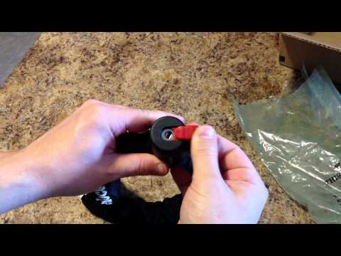 Master Lock 8291DPS Tuff Links Keyed 3-Foot Chain Lock Unboxing