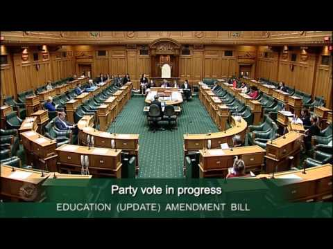 Education (Update) Amendment Bill - Committee Stage - Video 45