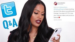 Twitter Q & A : Social Media Struggles, Fitness & Pet Peeves | MakeupShayla thumbnail