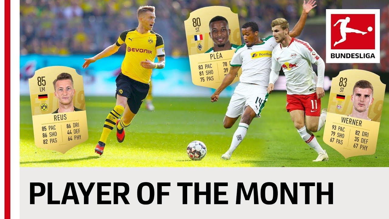 Calendrier Bundesliga 2.Fifa 19 Bundesliga Player Of The Month All Fifa 19 Potm Cards