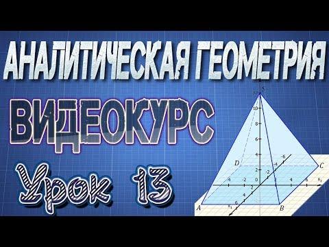 13. Уравнение прямой на плоскости (формулы)