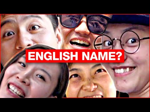 WHAT'S YOUR ENGLISH NAME? | Chinese Explain Choices
