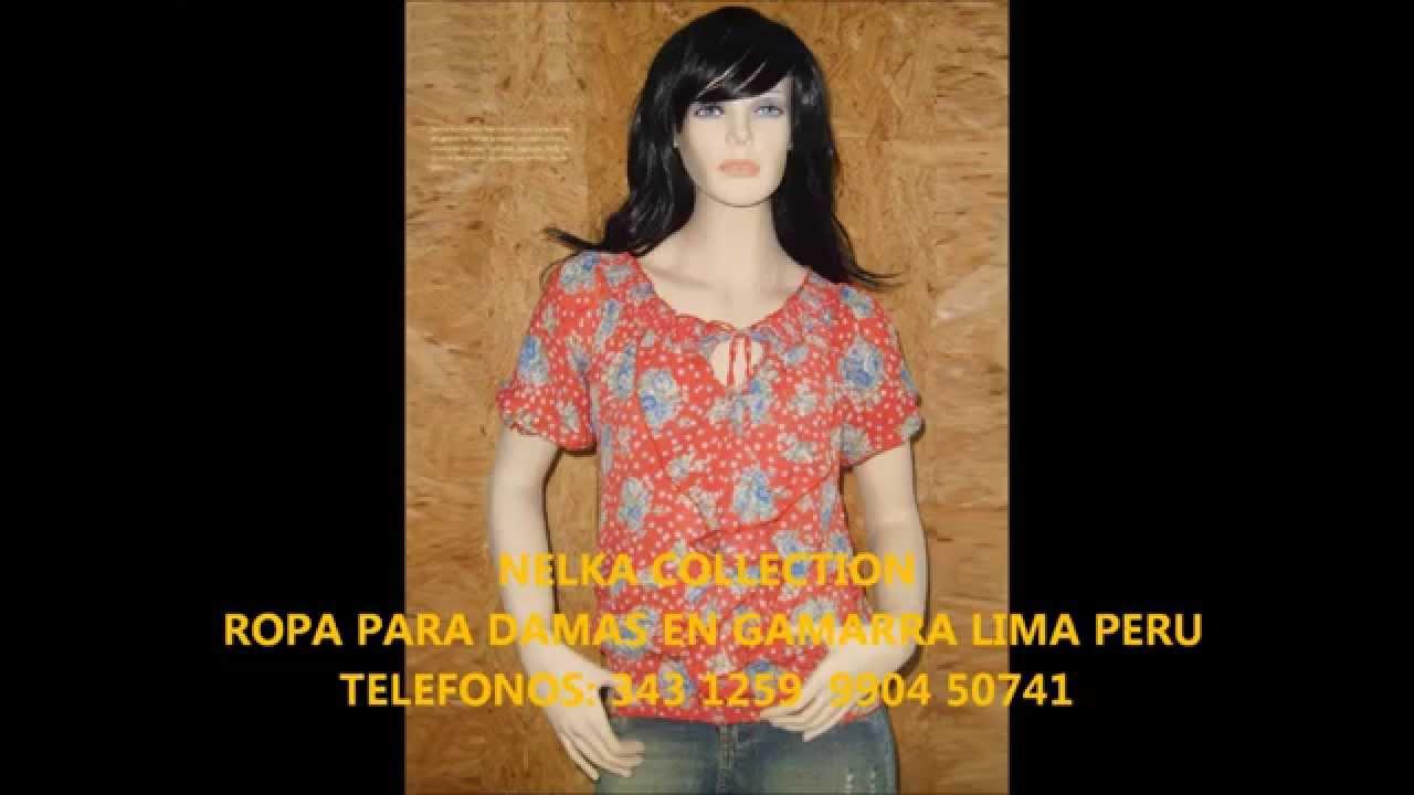 Nelka collection ropa para damas en gamarra youtube Modelos de locales de ropa