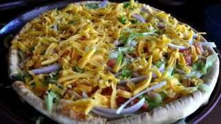 Off the Beaten Plate: Tostada Pizza