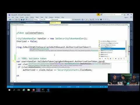 AWS Sydney Summit 2018: Creating an API Gateway Custom Authorizer in .NET Core 2.0