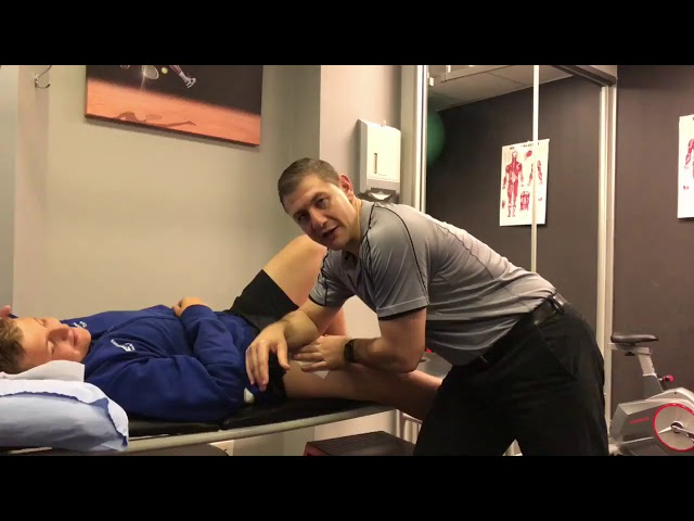 Physio Technique Tip - Active Release for a Rectus Femoris Muscle Tear