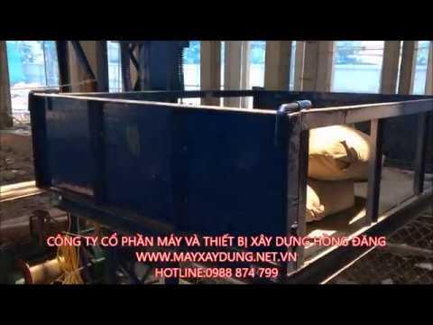 thử tải vận thăng nâng hàng 500kg, vận thăng nâng hàng 0988874799 - YouTube
