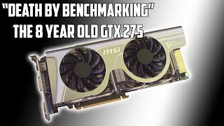 I pushed a $20 GTX 275 Way Too Hard