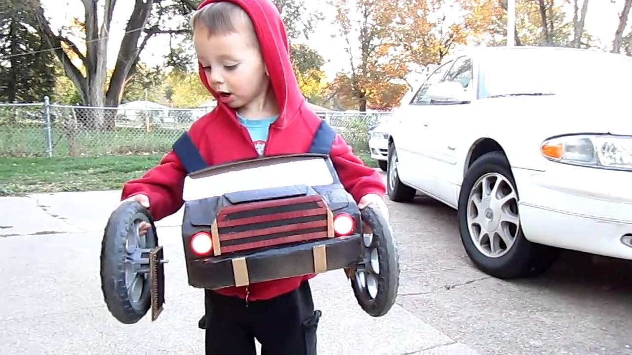 Monster Truck Halloween costume - YouTube