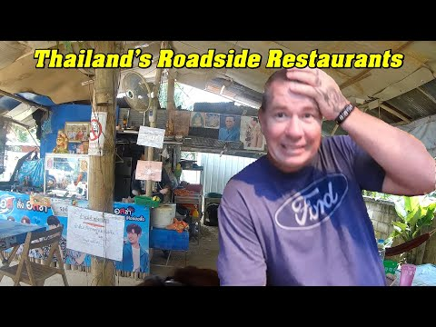 Roadside Restaurants Not For A Weak Stomach, Ranong Thailand