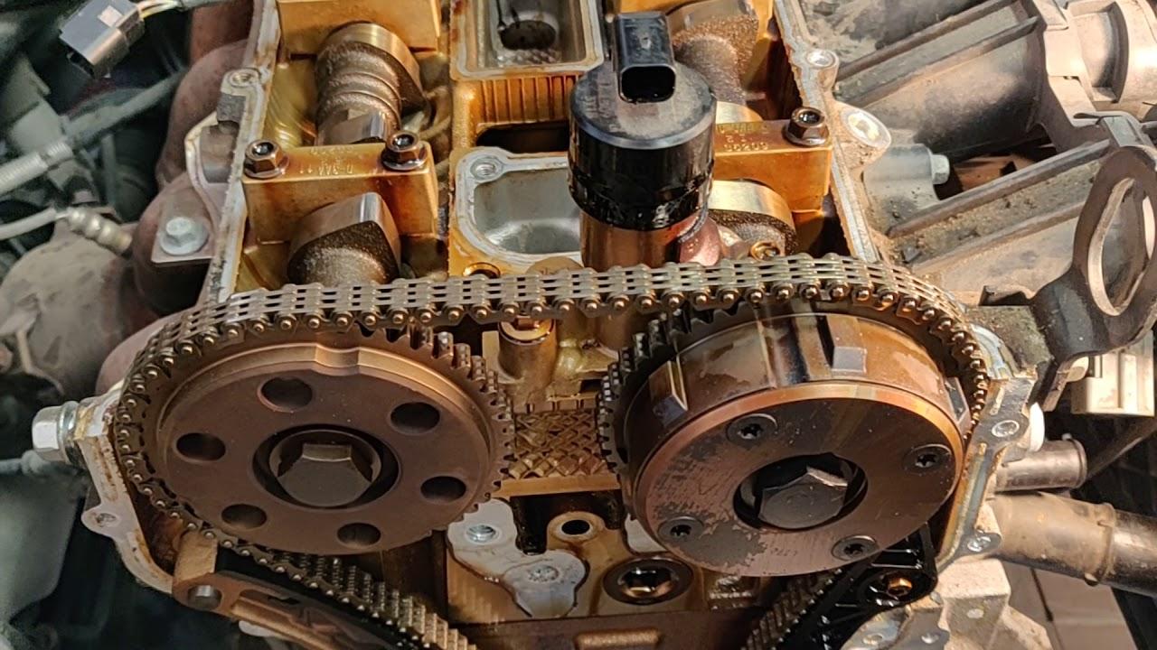2004 mazda 3 2 3 l engine cylinder head gasket removal [ 1280 x 720 Pixel ]