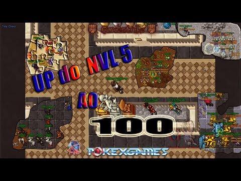 PXG Upando do LVL 5 ao 100(New server)