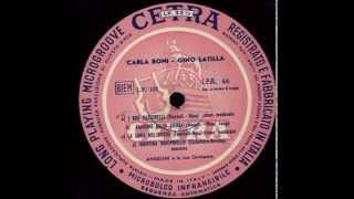 Carla Boni & Gino Latilla - La luna nel pozzo (1955)